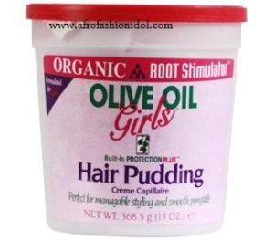 Olive Oil Girls Hair Pudding