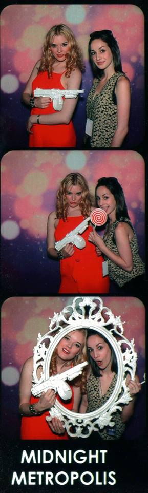 Photo Booth Fun with Photographer Talya Brott at Midnight Metropolis!