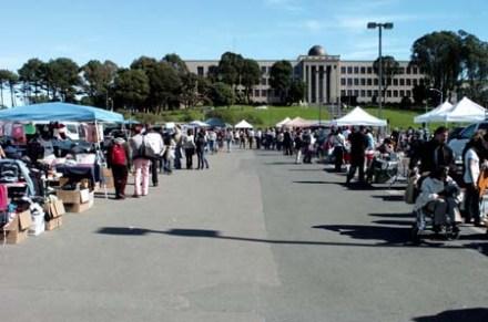 CCSF Flea market